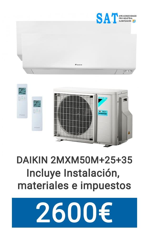 Daikin Split Dos x Uno Promo