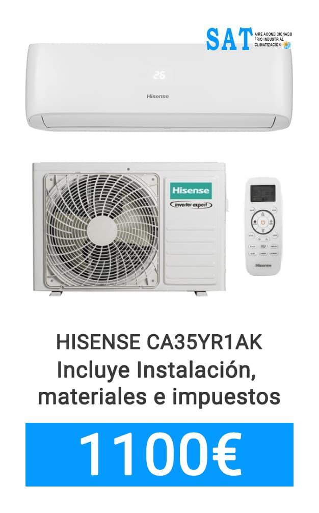 Mejor precio Hisense CA35YR1AK