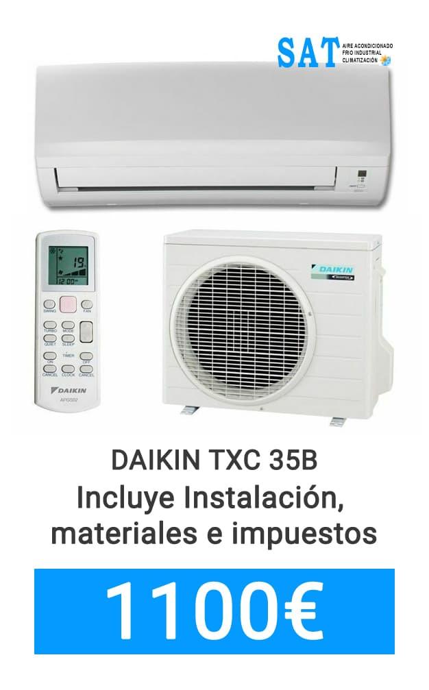 oferta aire acondicionado Daikin
