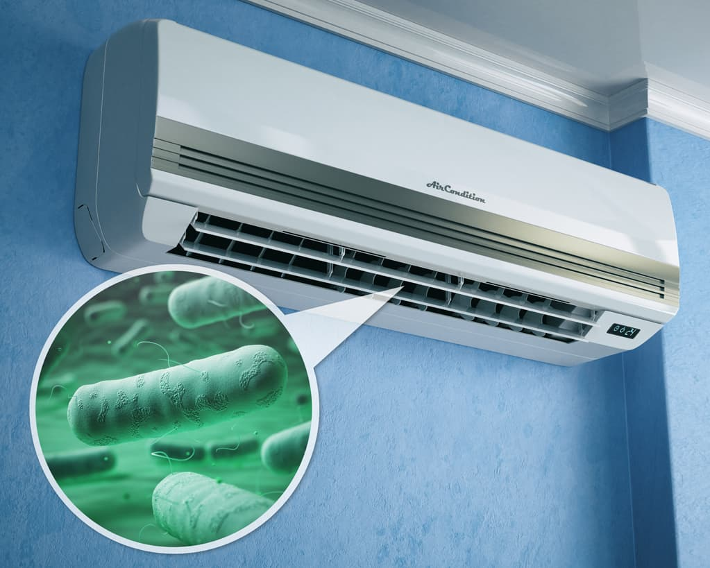 legionella aire acondicionado domestico