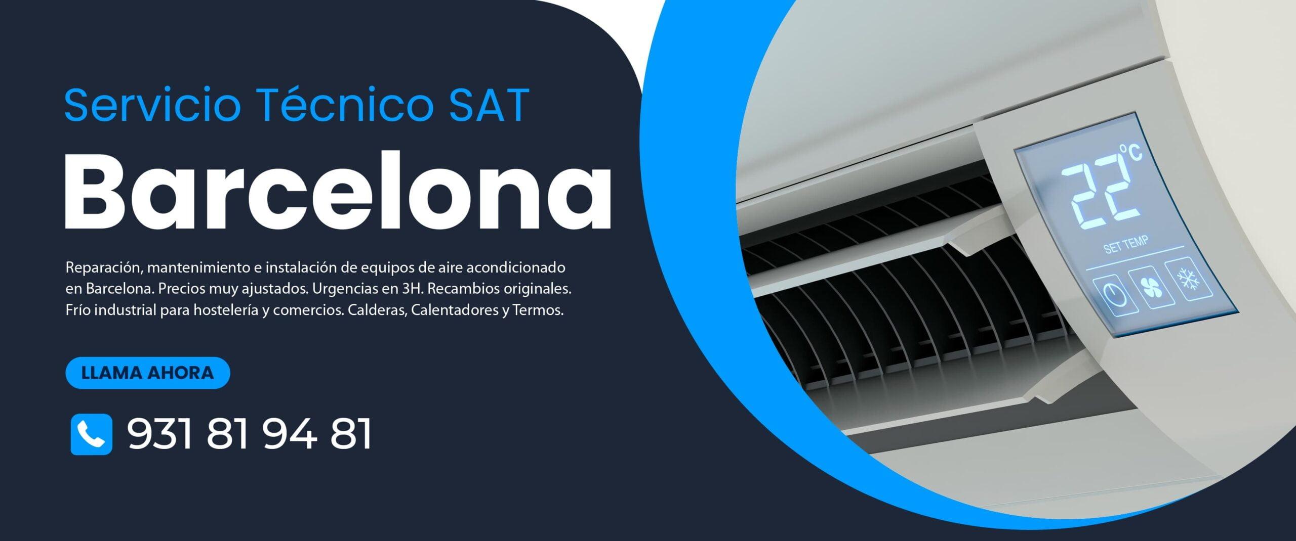 Reparacion aire acondicionado Barcelona