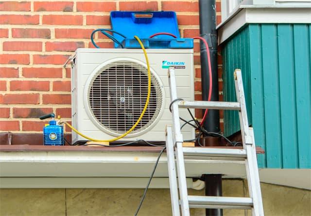 Reparación aire acondicionado Daikin